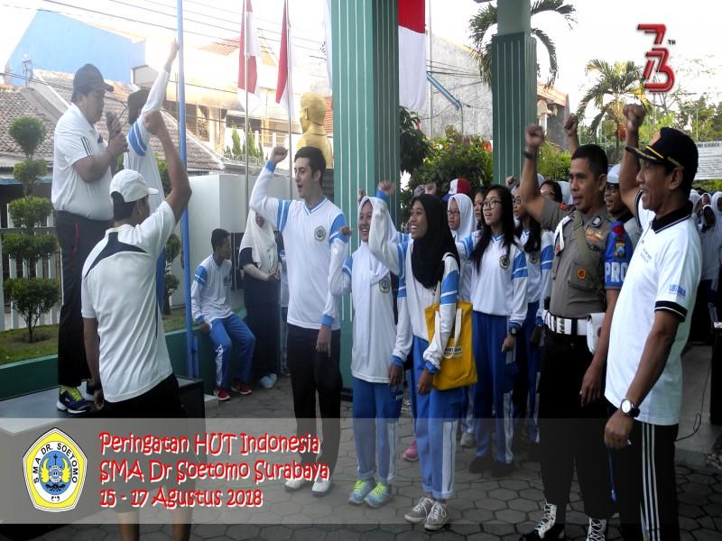 Perayaan Hari Kemerdekaan NKRI ke 73 tahun