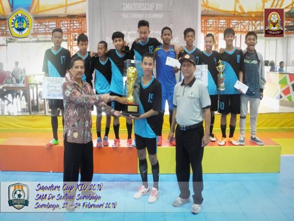Juara SMADORS CUP XIV 2018